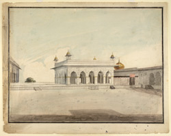 The Diwan-i-Khas or Hall of Private Audience, Delhi